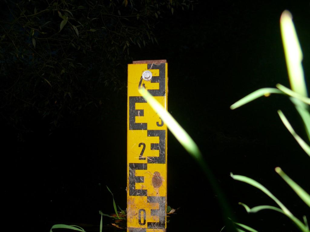 Pegelmarke am Müllergraben