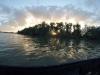 Abendstimmung im Rheinhafen Wörth