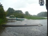 Peene im Regen