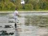 Oli auf der Rheinbuhne
