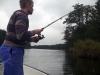 Mit Köderfisch in der Peene angeln