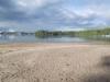 Sandbank am Rheinhafen